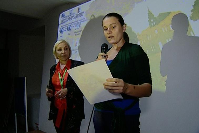 Мастер-класс по сценической речи для амурчан провела заслуженная артистка России