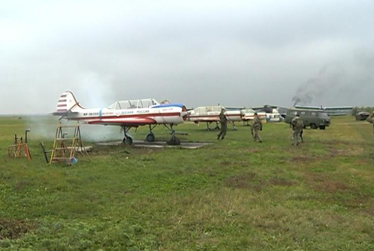 На аэродроме в Тамбовке амурские кадеты учились атаковать условного противника