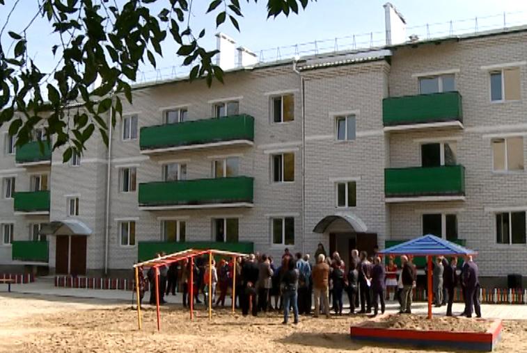 В Свободном 39 семей получили ключи от новых квартир