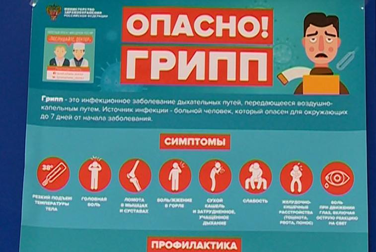 Бесплатную выездную вакцинацию от гриппа организуют в благовещенском ОКЦ
