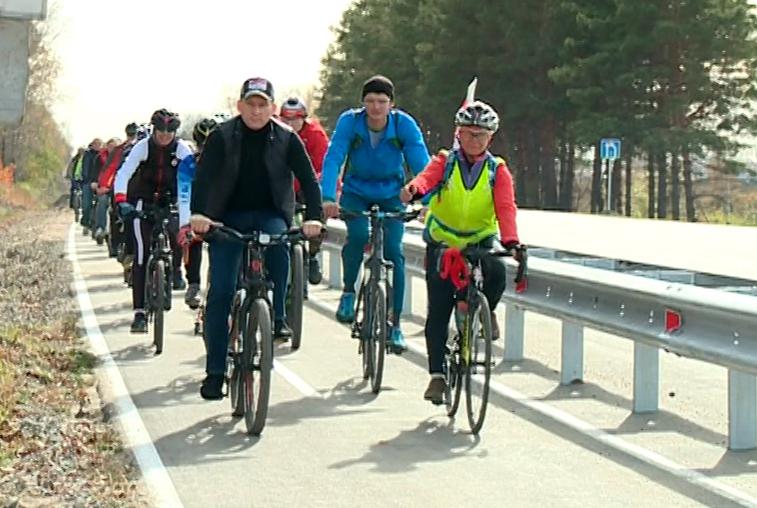 Первую магистральную велодорожку открыли в Благовещенске