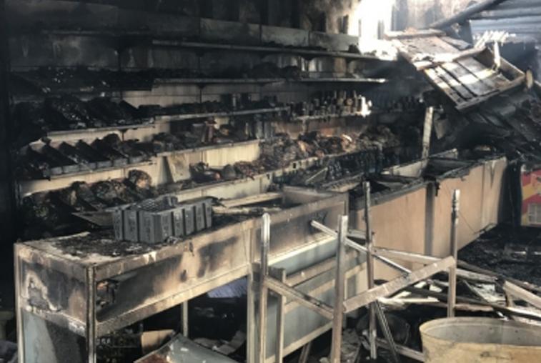Житель Овсянки поджег автомобили и магазины бывшего начальника