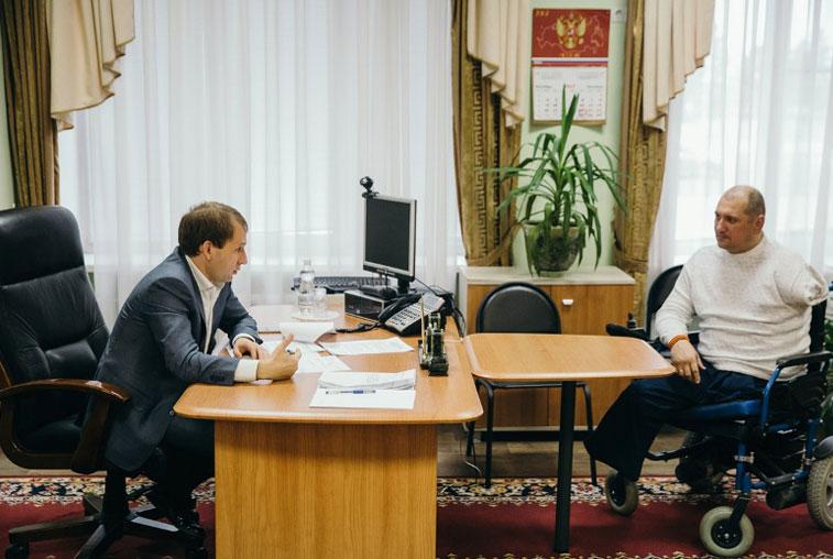 Решение проблем инвалида из Михайловского района проконтролирует губернатор