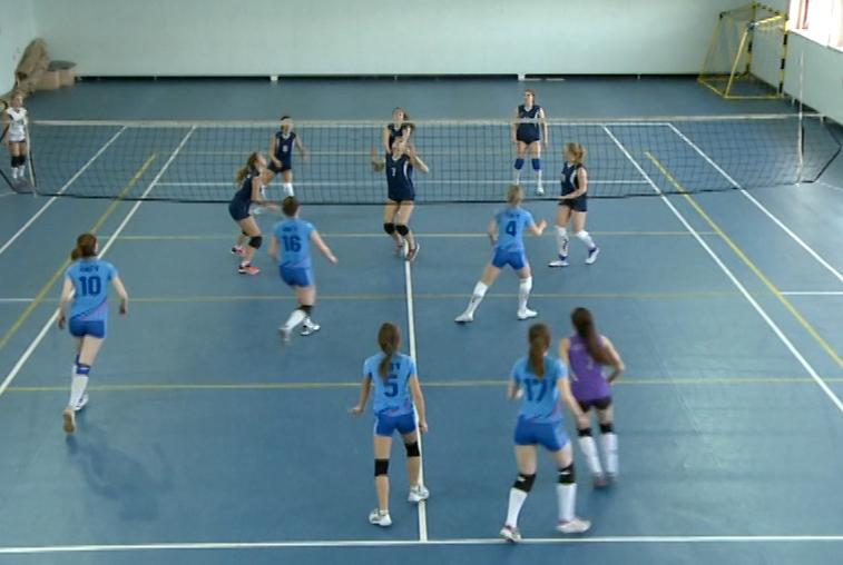 В Благовещенске определились победители первенства по волейболу среди женщин