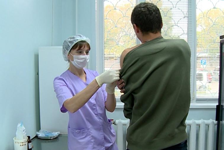 Прививку от гриппа получил каждый второй амурчанин