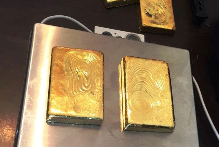 Слитки золота в кроссовках вез через Благовещенскую таможню гражданин Китая