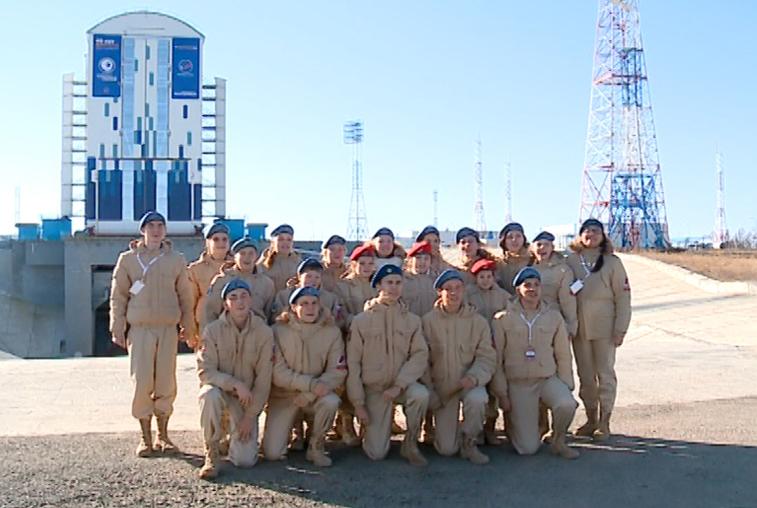 На космодроме Восточный побывали с экскурсией хабаровские школьники