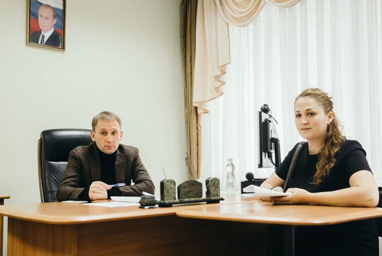 Александр Козлов встретился с медиками, обратившимися на прямую линию Президента