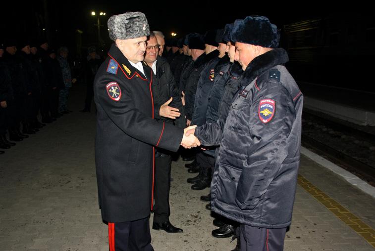 Амурские полицейские отправились в очередную командировку на Северный Кавказ