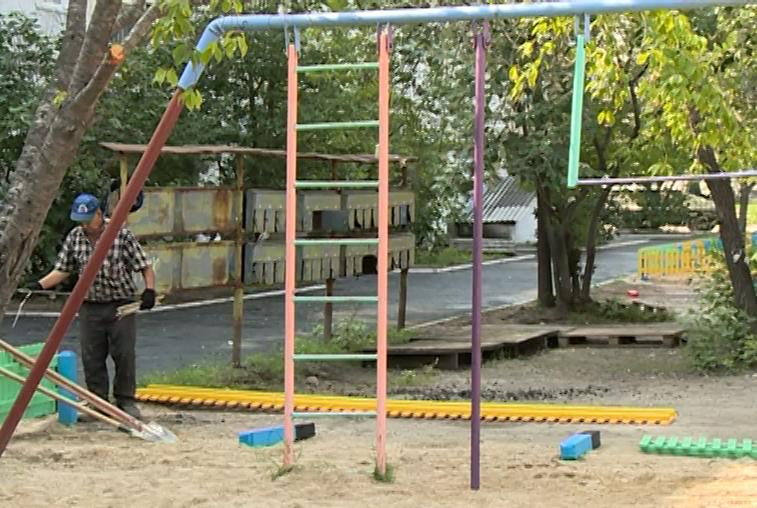В Приамурье отремонтировали около 50 дворовых и общественных территорий