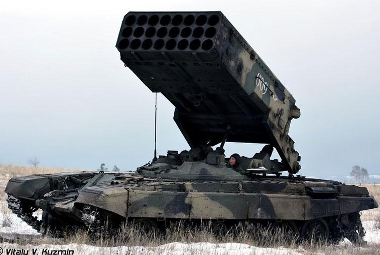 Амурские военные получат новые огнемётные системы «Солнцепёк»