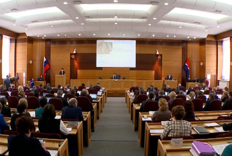 Бюджет Приамурья депутаты приняли в первом чтении