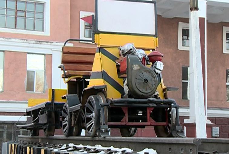В Свободном открыли ретро-парк железнодорожной техники