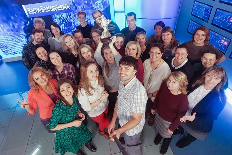 «Вести.Благовещенск» борется за звание лучшей региональной новостной программы в стране
