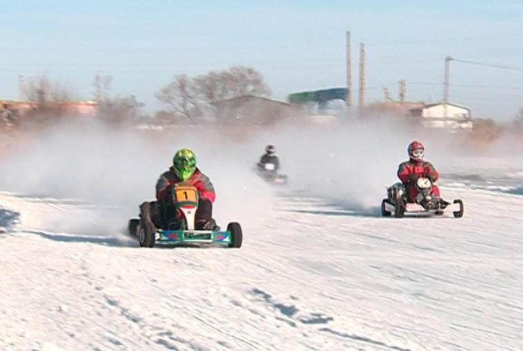 Амурские картингисты открыли зимний сезон командными заездами