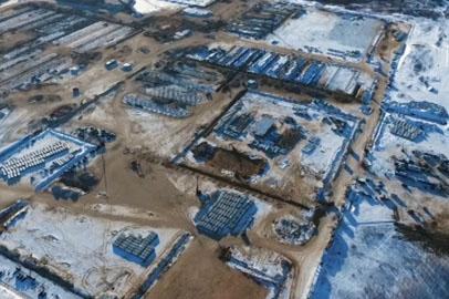 На стройплощадке амурского ГПЗ готовятся к сдаче энергоподстанции