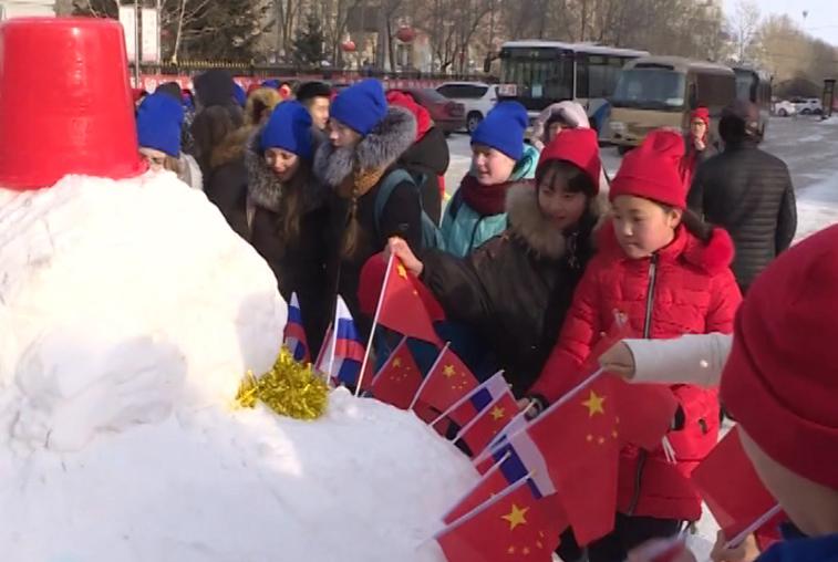 Российские школьники побывали на фестивале «Ледового Шёлкового пути» в Хэйхэ