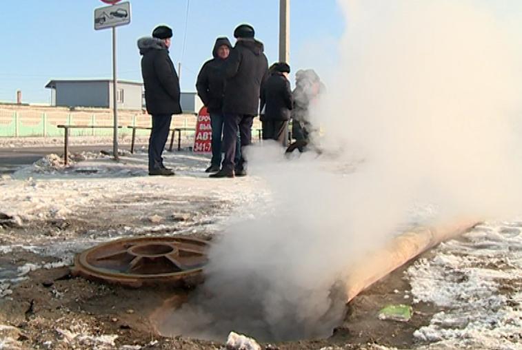 В микрорайоне Благовещенска заменят участок изношенной теплотрассы