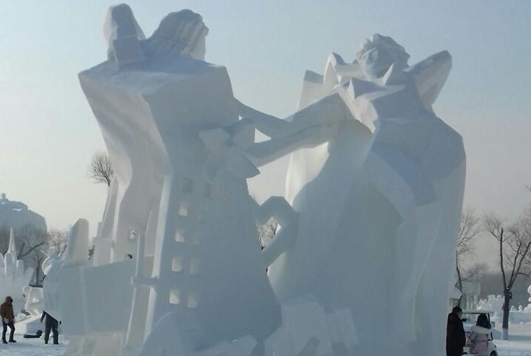 Амурчане завоевали третье место на фестивале льда в Харбине