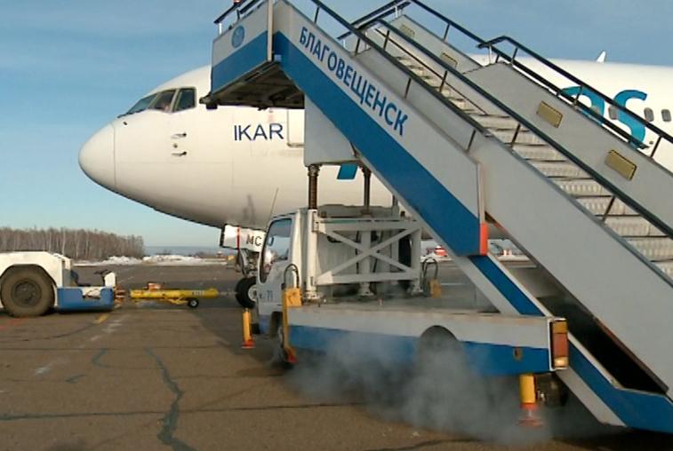 Самолеты из Благовещенска в Москву будут летать с промежуточной посадкой