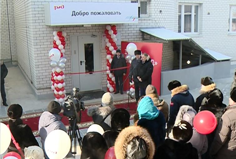 Новый корпус локомотивного депо открыли в Белогорске