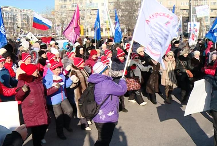 Россия в моем сердце: благовещенцы поддержали российских спортсменов-олимпийцев