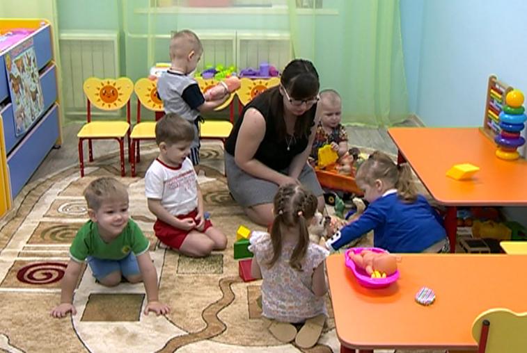 В детских садах Приамурья открываются дополнительные ясельные группы