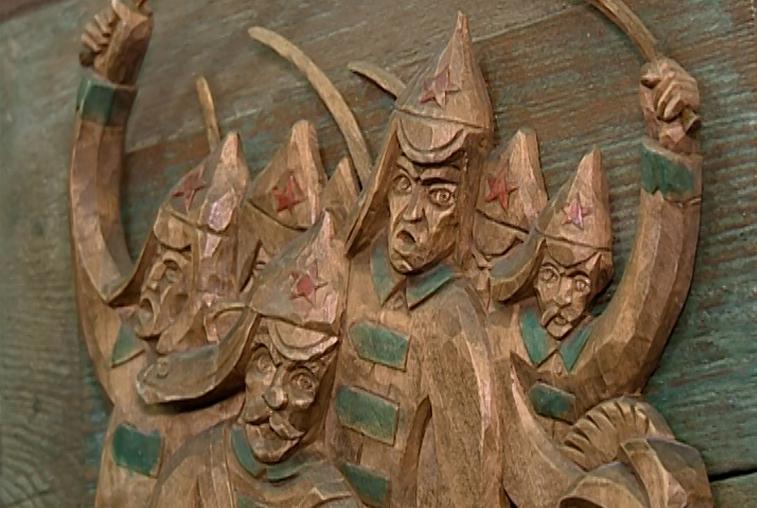 Патриотическая выставка работ из дерева открылась в Благовещенске