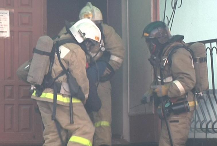 Антитеррористическая тренировка прошла в здании Амурской медакадемии