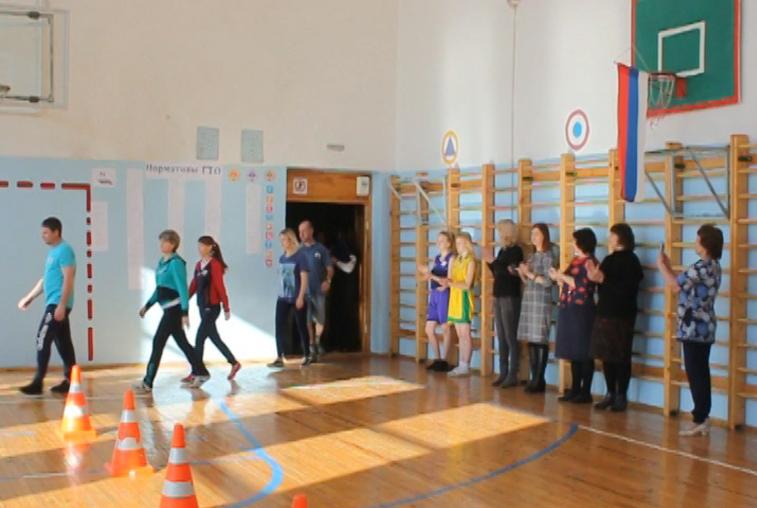 Родители шимановских школьников сдали нормы ГТО