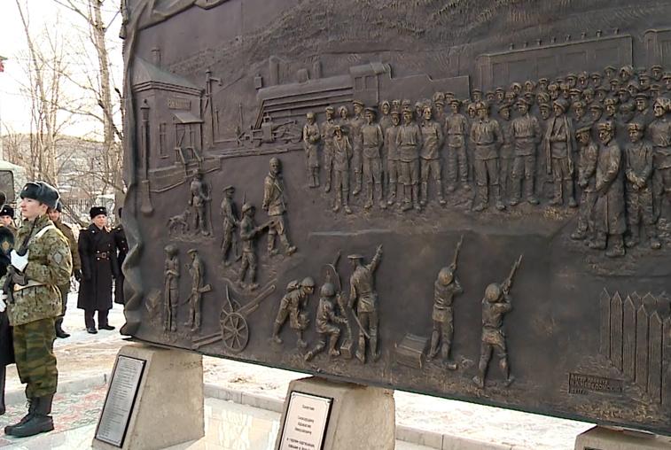 Новый памятник на братской могиле партизан открыли в Сковородино