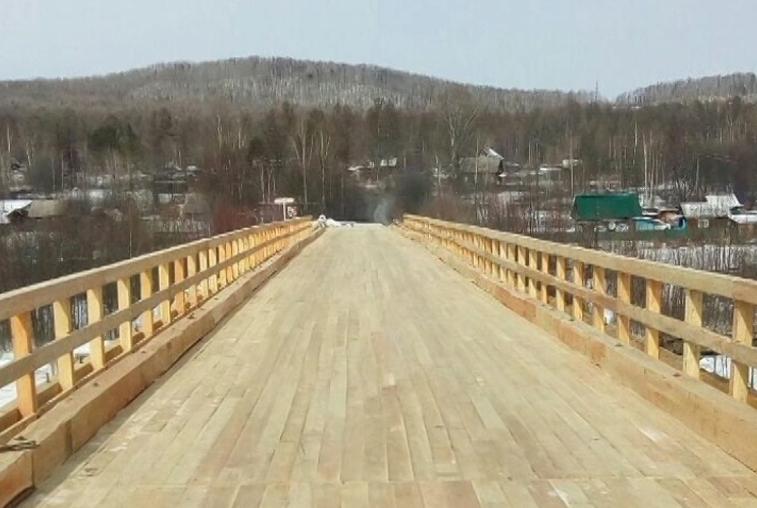 В Селемджинском районе реконструировали мост через реку Мын
