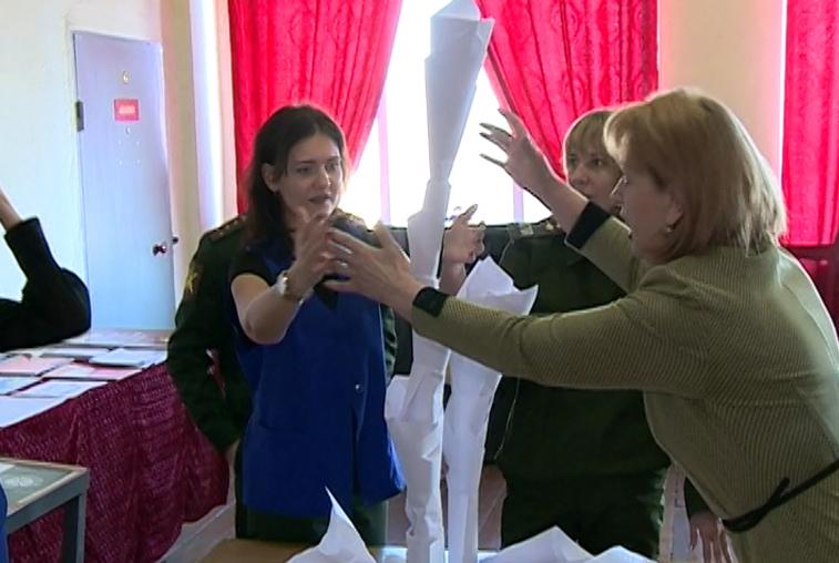 Тренинги для военных психологов провели в Белогорске