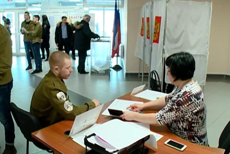 В Циолковском впервые работал спецучасток для голосования