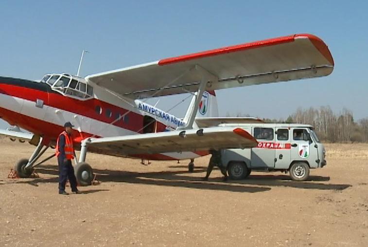 К пожароопасному периоду штат Амурской авиабазы полностью укомплектовали