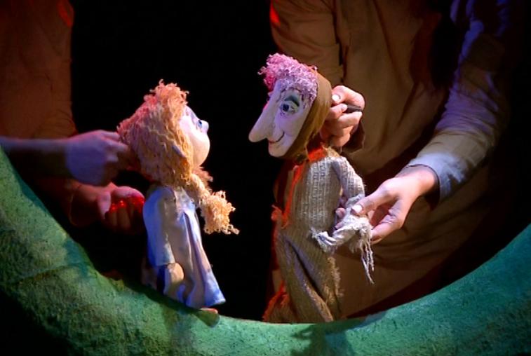 Поучительный спектакль для детсадовцев показали в областном театре кукол