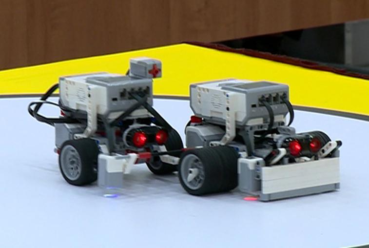 Поединки роботов-сумоистов состоялись в Благовещенске