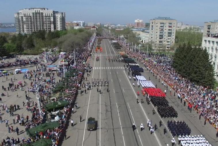 К Дню Победы в Приамурье организуют 1700 праздничных акций