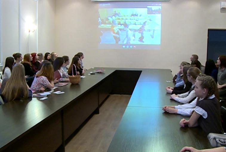 Чигиринские школьники поучаствовали в необычных уроках немецкого языка