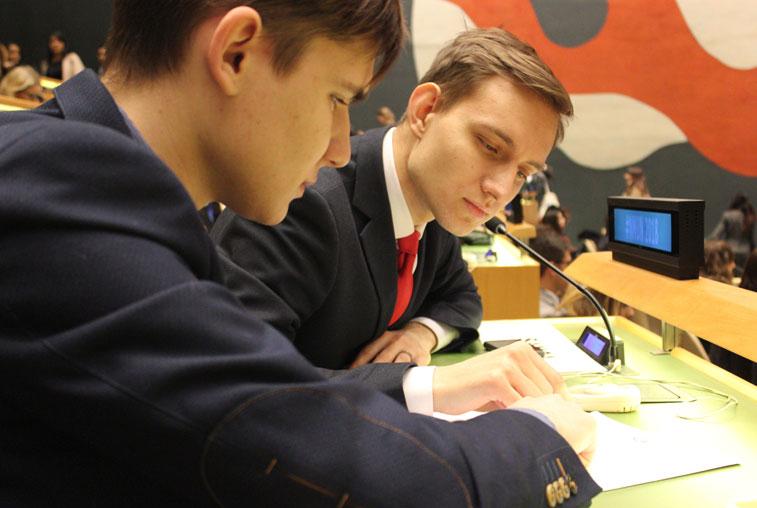 Президент дебат-клуба «Модель ООН» представил АмГУ на конференции в Нью-Йорке