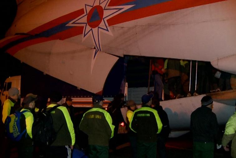 На помощь в тушении пожаров в Приамурье прибыло пополнение из Марий-Эл