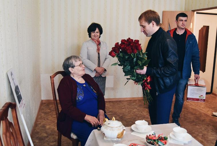 Вдова участника Великой Отечественной войны получила жилье в Благовещенске