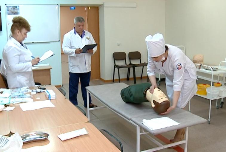 44 медсестры поборолись за звание лучшего специалиста Приамурья со средним медобразованием