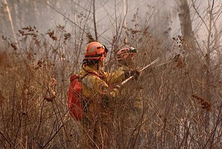 Режим ЧС в связи с пожароопасным сезоном отменен