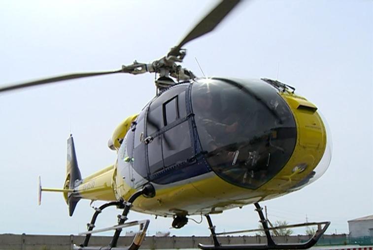 Вертолёт, аварийно севший в 250 км от п.Экимчан, принадлежал белогорскому предпринимателю