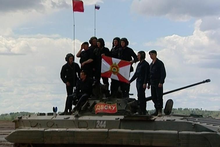 Мотострелки ДВОКУ вошли в основу команды на международном этапе «Суворовского натиска»