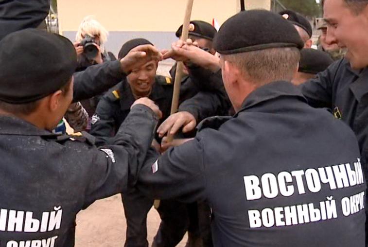 Команда Восточного военного округа обошла соперников по всем показателям в «Танковом биатлоне»