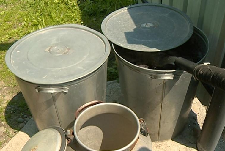 В Новобурейском вновь заработали колонки водоснабжения
