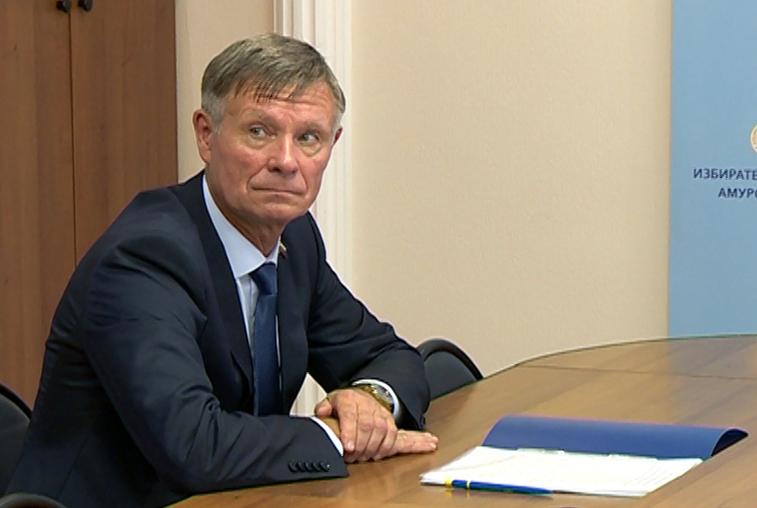 Андрей Кузьмин зарегистрирован в качестве кандидата в депутаты Госдумы от Приамурья