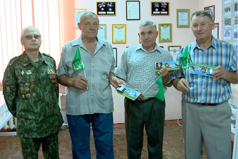 Ветераны-пограничники встретились в Благовещенске спустя 45 лет на юбилее командира
